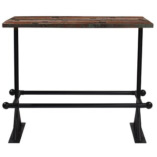 Eilish Wooden Bar Table By Williston Forge