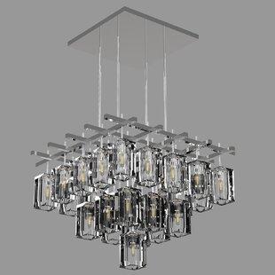 Monceau 25-Light Square/Rectangle Chandelier by Fine Art Lamps