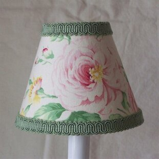 True Floral 11 Fabric Empire Lamp Shade