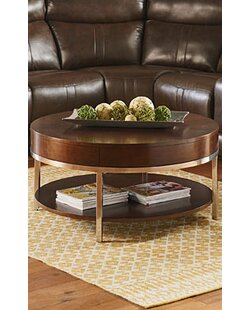 Mira Coffee Table with Magazine Rack