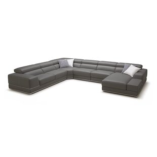 Wade Logan Leather Sectional