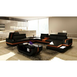 Trafalgar Reclining Sectional by Hokku Designs