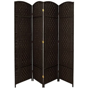 Rusch 4 Panel Room Divider by Bloomsbury Market