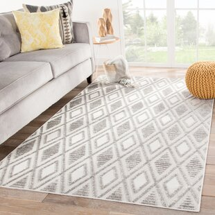 Pineville Trellis Gray/Beige Indoor/Outdoor Area Rug