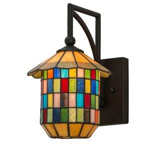 Greenbriar 1 Light Meyer Lantern Wall Sconce