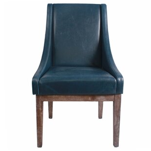 Gracie Oaks Charee Bonded Leather Side Chair