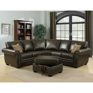 Darby Home Co Edenbridge Sectional with Ottoman