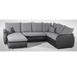 Canby Reversible Corner Sofa Bed By Mercury Row