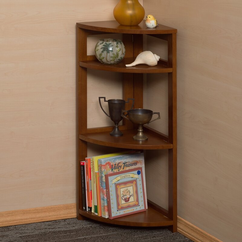 Flip Flop Folding Corner Unit Bookcase