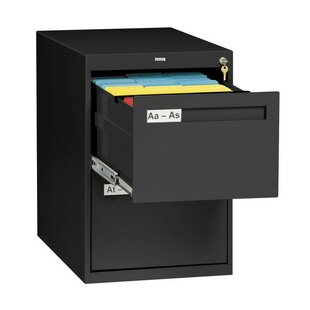 Tennsco Corp. 2 Drawer Vertical Legal File Cabinet