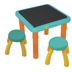 Kids 8 Piece Arts and Crafts Table and Chair Set ByGrow 'n Up