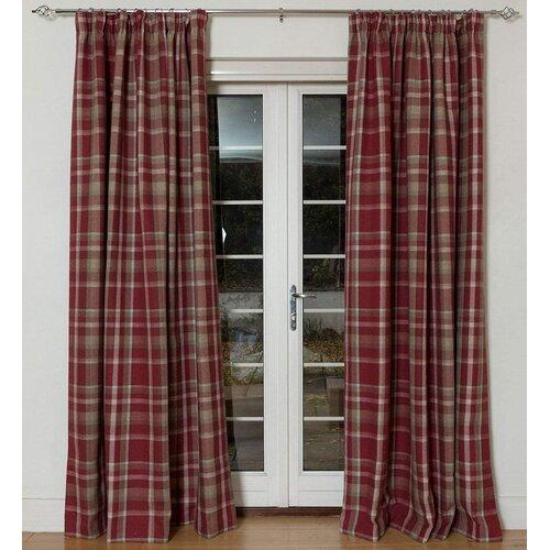 Cragmont Heritage Tailored Eyelet Blackout Thermal Curtains