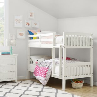 Read Reviews Minehead Twin over Twin Bunk Bed by Harriet Bee Reviews (2019) & Buyer's Guide