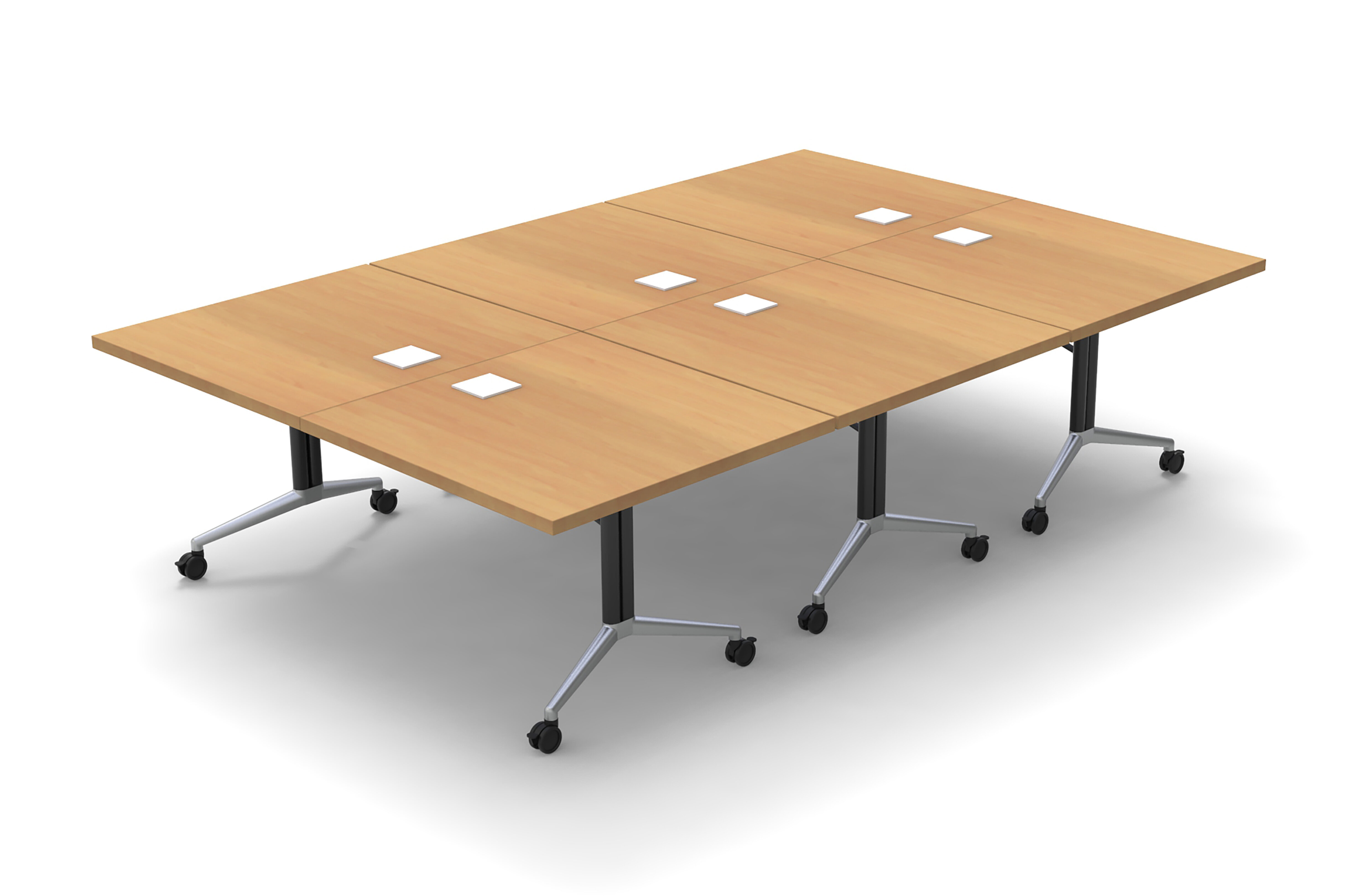 Altheia Fold up Rectangular Conference Table