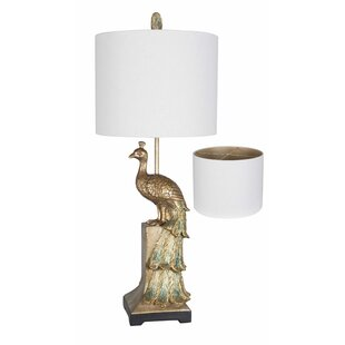 Annapolis Peacock 34.5 Table Lamp