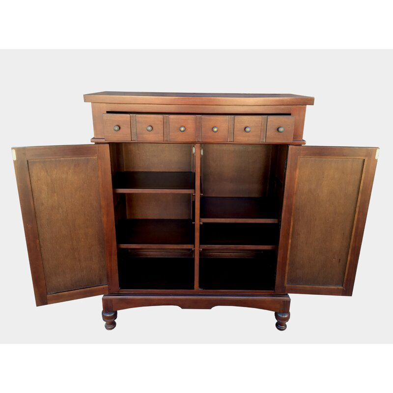 Colonial Apothecary Storage Accent Cabinet