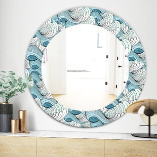 Great Wave Inspiration Wall Mirror