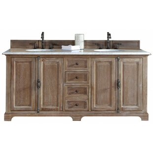 Ogallala 72 Double Cabinet Vanity Base by Greyleigh