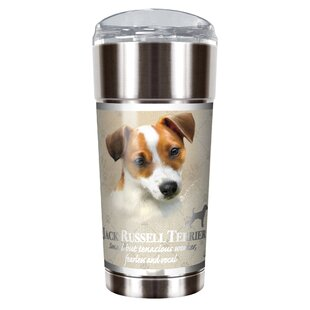 Howard Robinson's Jack Russell 24 oz. Stainless Steel Travel Tumbler