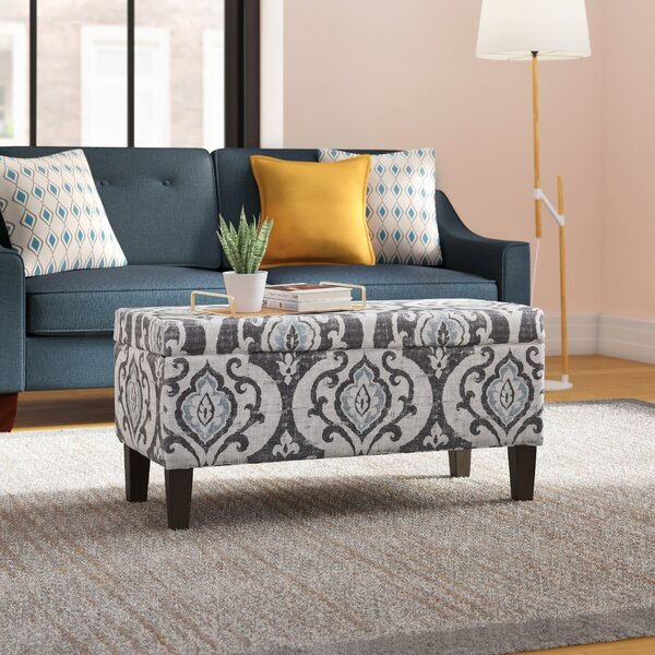 Brilliant Sapphire Blue Ottoman Wayfair Machost Co Dining Chair Design Ideas Machostcouk