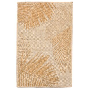 Cecile Palm Neutral Indoor/Outdoor Area Rug