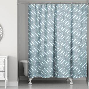 Ketcham Chevron Single Shower Curtain