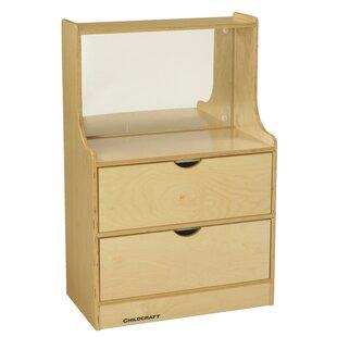 Kempton Dresser Vanity Table with Mirror by Zoomie Kids