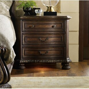 Hooker Furniture Adagio 3 Drawer Nightstand