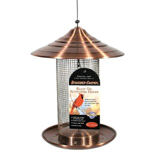 Audubon Coppertop Sunflower Nyjer/Thistle Feeder