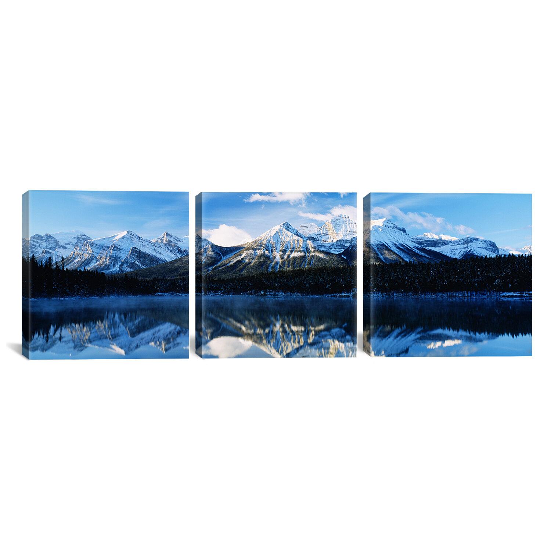 Latitude Run Herbert Lake Banff National Park Alberta