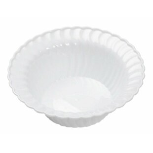 Scallops 'I Can't Believe It's Plastic' Dinner and Salad Plate (Set of 50)