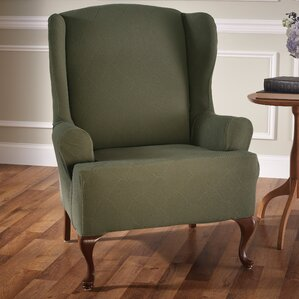 Amazing Madden Stretch T Cushion Wingback Slipcover