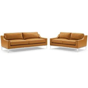 Delonge 2 Piece Living Room Set By Orren Ellis