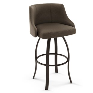 Nicki 26 Swivel Bar Stool by Brayden Studio Sale
