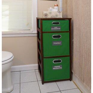 Charmant Bookcase With Storage Bins | Wayfair