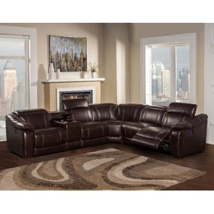 leyla reclining sectional - Leather Sectional Couch With Recliner