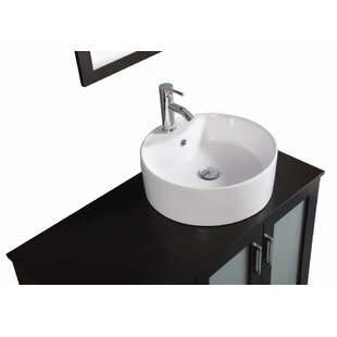 Signature Series 40 Single Modern Freestanding Bathroom Vanity Set by Belvedere Bath