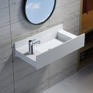 Looking for Rectangular Stone 31 Wall Mount Bathroom Sink By InFurniture