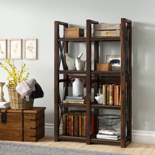 Read Reviews Gladstone Etagere Bookcase By Laurel Foundry Modern Farmhouse