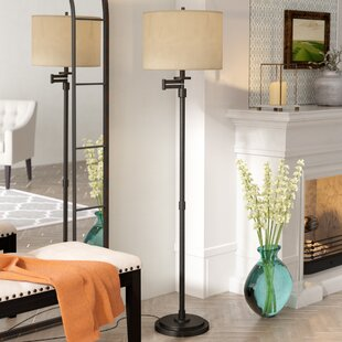 Best Sefton 62 Swing Arm Floor Lamp By Darby Home Co