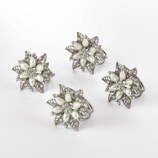 Bejeweled Napkin Ring (Set of 4)
