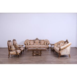 Meera 3 Piece Living Room Set by Astoria Grand