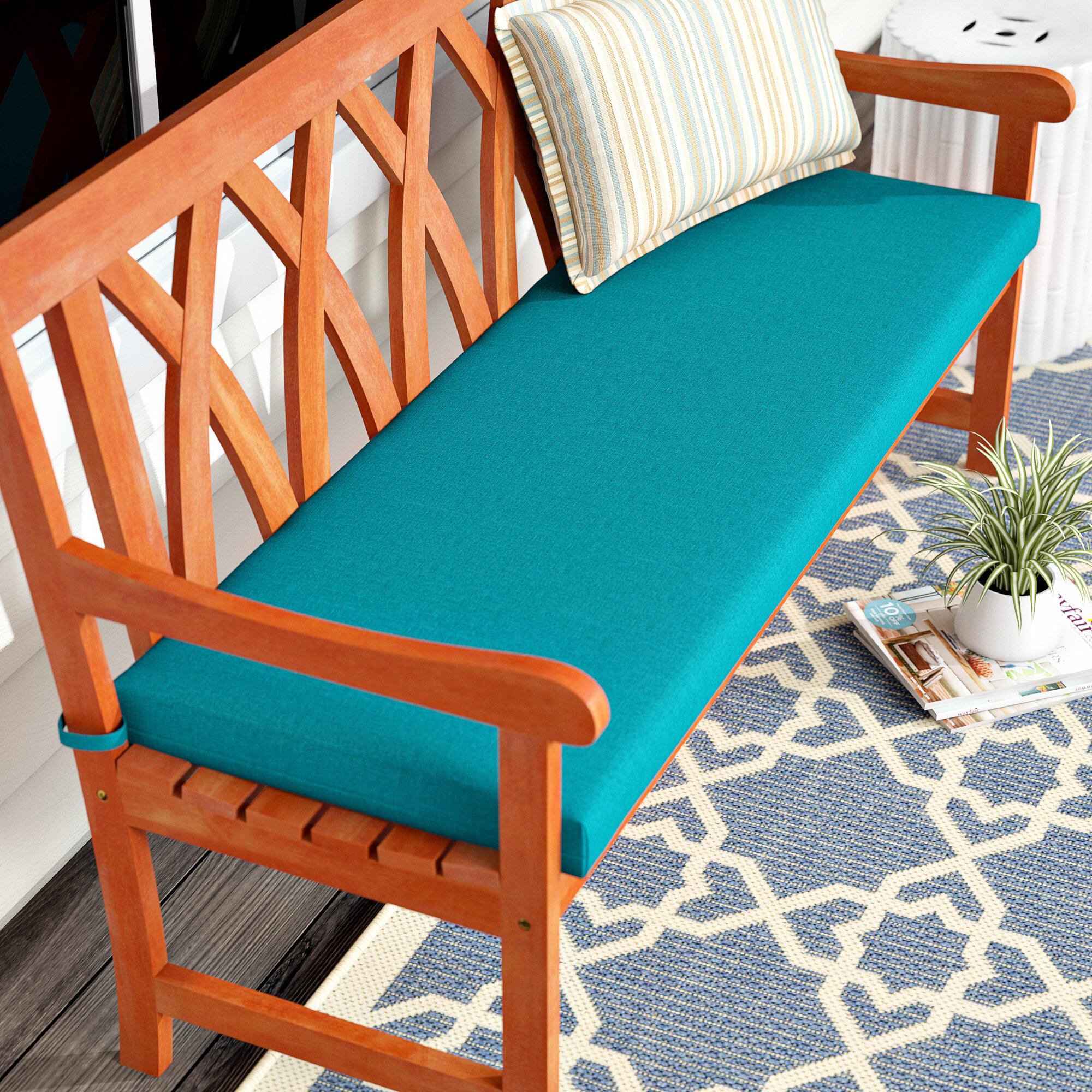 Indoor Outdoor Bench Cushion