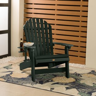 Camacho Plastic Folding Adirondack Chair by Longshore Tides
