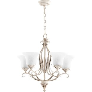 Harnois 5-Light Shaded Chandelier by Lark Manor