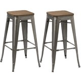 Lola 30 Bar Stool (Set of 2) by Williston Forge