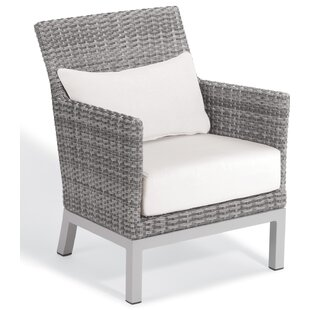 Brayden Studio Saleem Club Patio Chair wi..