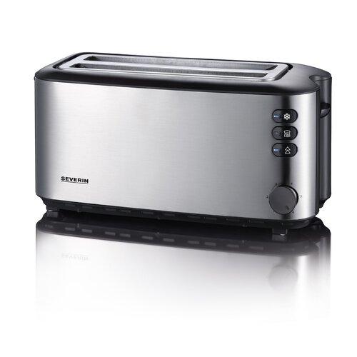 Toaster für 4 Scheiben   Küche und Esszimmer > Küchengeräte > Toaster   Edelstahl   Severin