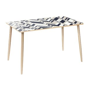 Garney Dining Table by Orren Ellis Modern
