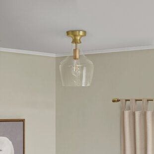 Wrought Studio Penrith 1-Light Flush Mount